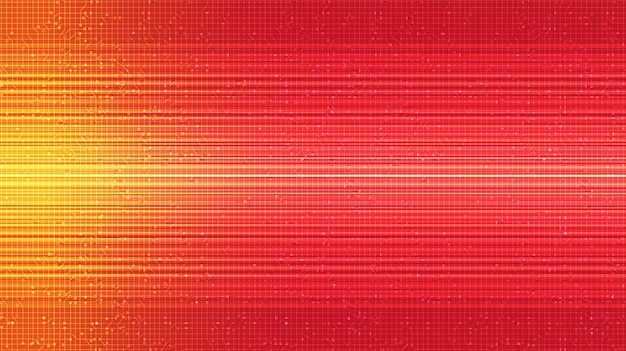 Rode snelheid technologie achtergrond, digitaal en internet concept