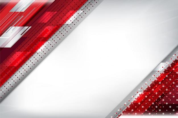 Rode strepen en puntachtergrond