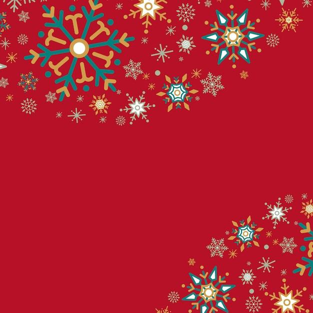Rode vakantie ontwerp achtergrond vector