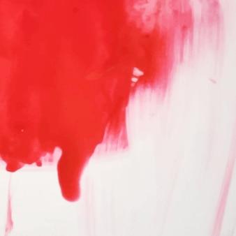 Rode waterverf splash ontwerp achtergrond
