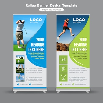 Roll-up / standee-banner