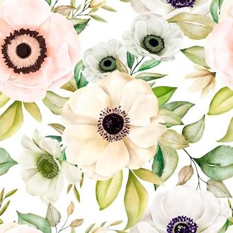 Romantisch bloemen naadloos patroon