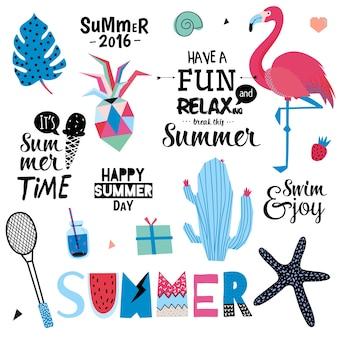 Romantische en liefdeskaarten, notities, stickers, etiketten, tags met lente-illustraties. sjabloon voor scrapbooking, verpakking, gefeliciteerd, uitnodigingen. mooie wensen met schattige dieren en snoep