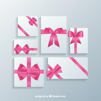 Romantische gift cards templates