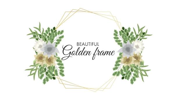 Romantische krans met citaat tekst plaats kaartsjabloon bloemen uitnodiging
