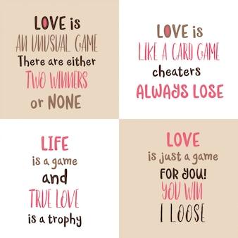 Romantische liefde citaat collectie