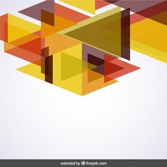 Rommelige terracotta kleuren driehoeken