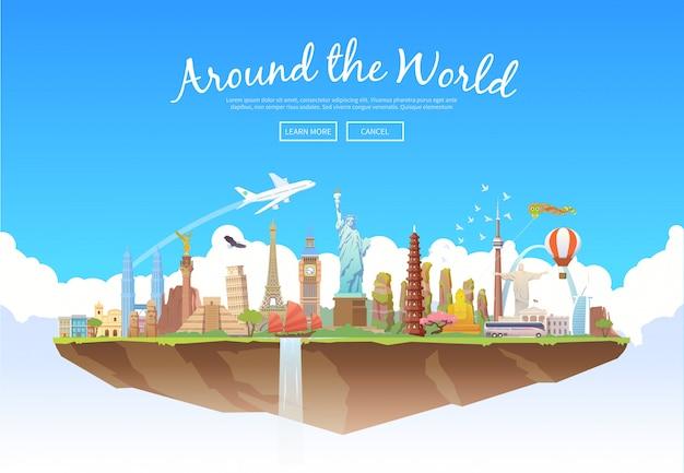 Rond de wereld