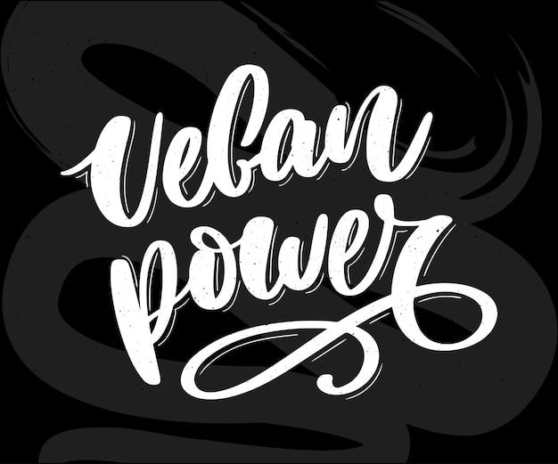 Ronde eco, bio groen logo of teken. hand getrokken belettering 100 vegan.