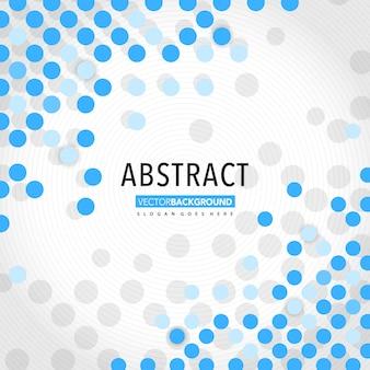 Ronde halftoon abstracte vector achtergrond