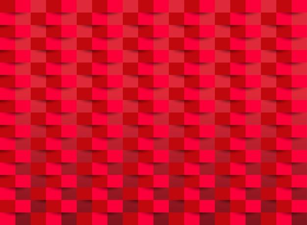 Rood behang met rechthoekige textuur