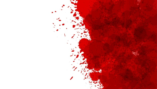 Rood bloed splatter vlek textuur achtergrond