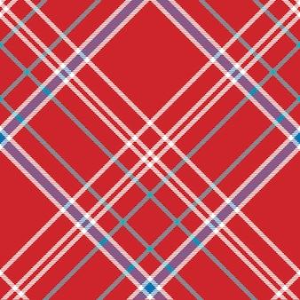 Rood de textuur naadloos patroon van de achtergrondcontrolestof
