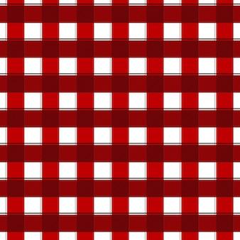 Rood en wit gingang naadloos patroon