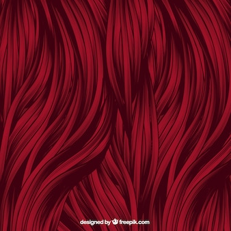 Rood haar achtergrond