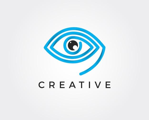 Rood oogpictogram trendy plat rood oogpictogram uit de fotografiecollectie geïsoleerd op een witte achtergrond afbeelding kan worden gebruikt voor web en mobiel grafisch ontwerp logo eps10