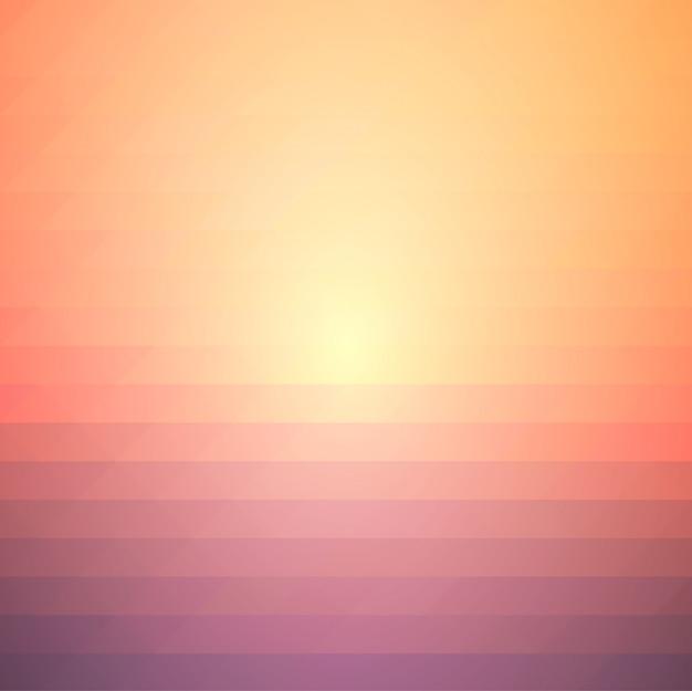 Rood oranje paarse rijen van driehoeken achtergrond, vierkant