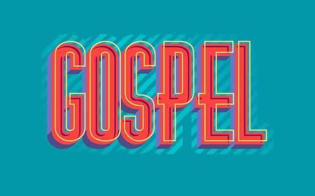 Rood religieus evangeliewoord