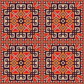 Rood tapijtpatroon