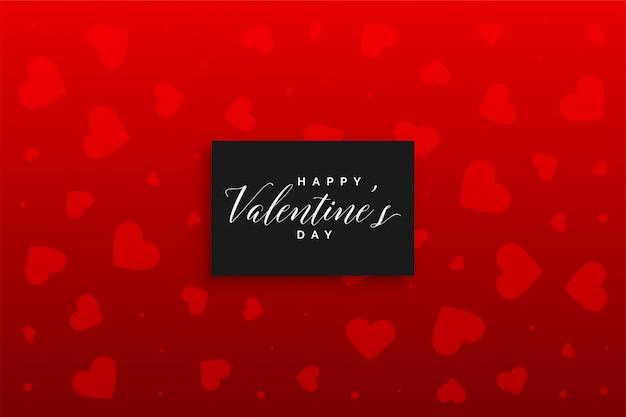 Rood van het hartenpatroon ontwerp als achtergrond