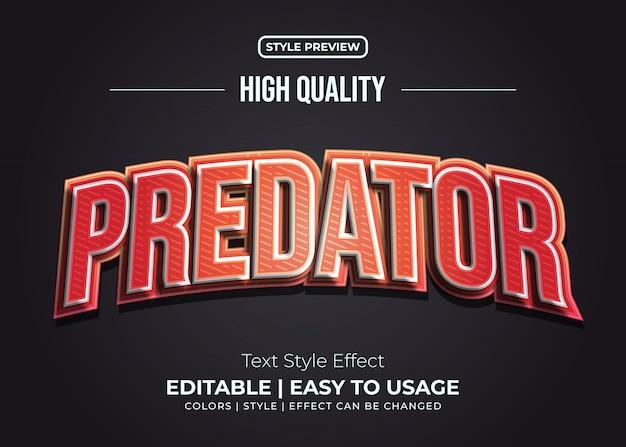 Rood vetgedrukt tekststijleffect
