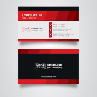 Rood visitekaartje