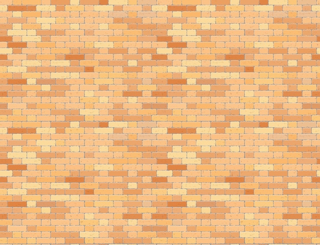 Roodbruine grunge bakstenen muur