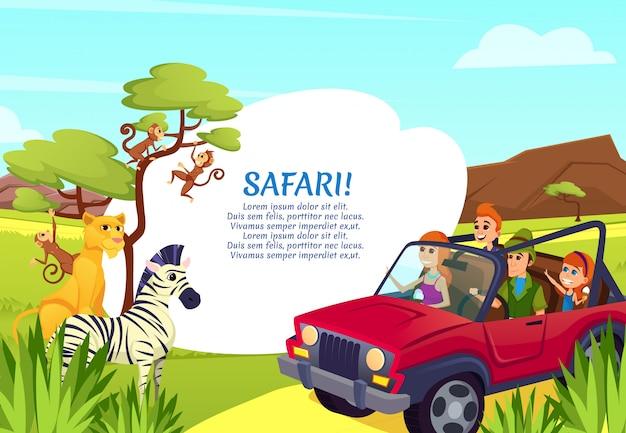 Roofdier leeuwin, zebra, apen samen, dieren in het wild