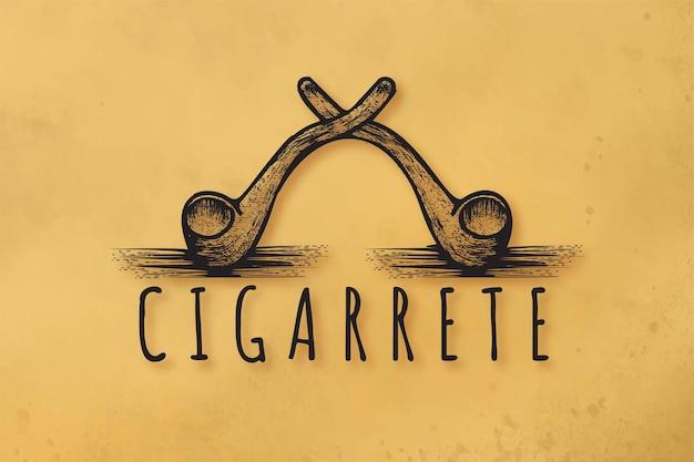 Rookpijp logo ontwerpen inspiratie