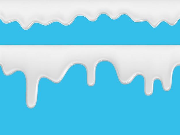 Room, yoghurt, ijs of melk