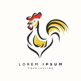 Rooster logo ontwerp