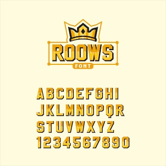 Roows lettertype