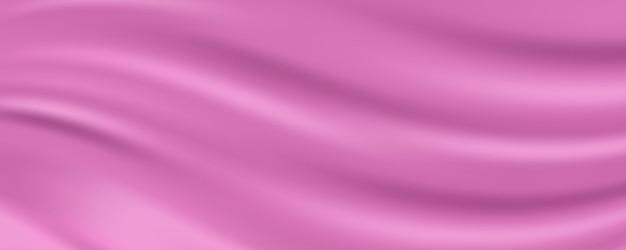 Rose goud zijde stof abstracte achtergrond, vectorillustratie