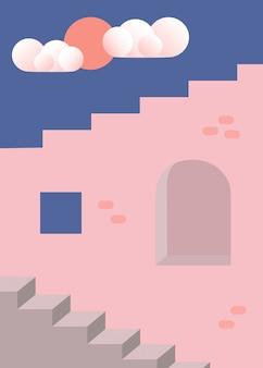 Rose muur