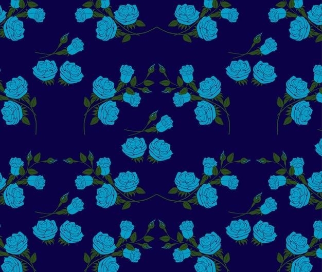 Rose patroon vector.