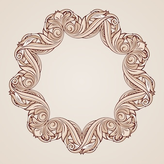 Rose roze bloemmotief