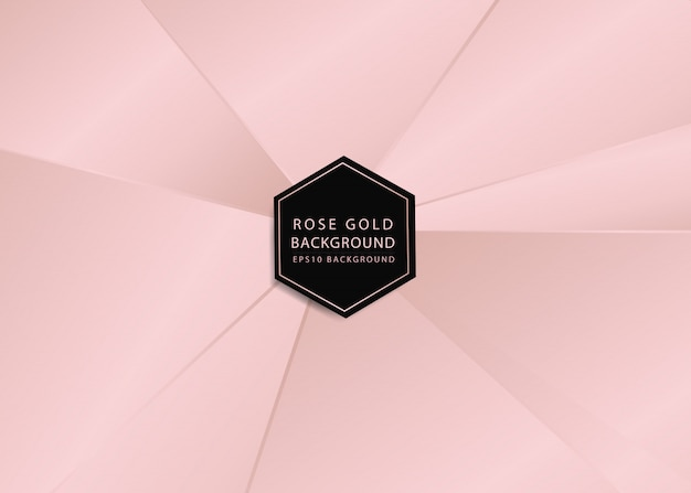 Rosegold abstracte achtergrond
