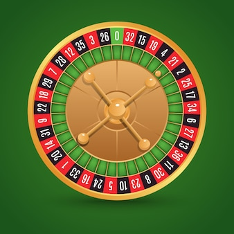 Roulette achtergrond ontwerp