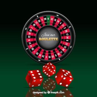 Roulette en rode dobbelstenen