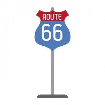 Route 66 bordsymbool