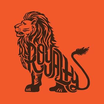 Royalty lion