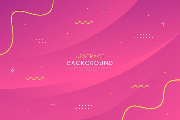 Roze abstract met lijnen verloop achtergrond