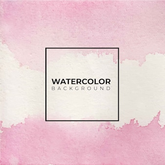 Roze abstracte aquarel achtergrond, hand verf.