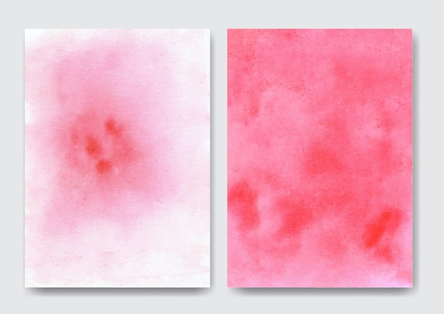 Roze abstracte aquarel zachte en harde achtergrond