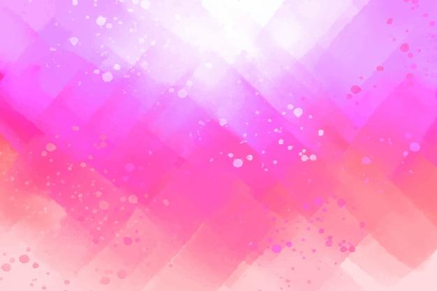 Roze abstracte handgeschilderde achtergrond