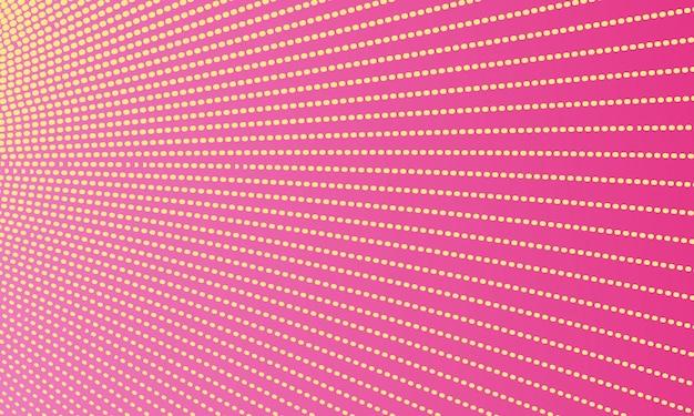 Roze abstracte stippellijn achtergrond