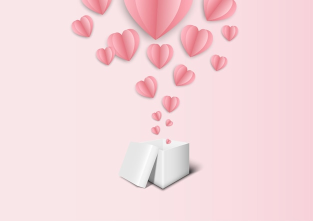 Roze achtergrond voor valentijn festival en bruiloft