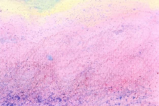 Roze acrylverf en kleurpotloodtextuur