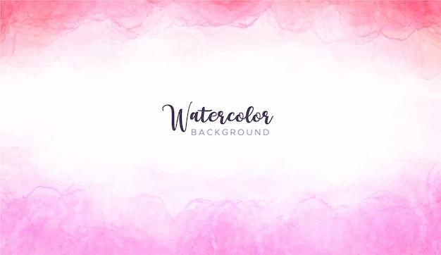 Roze aquarel achtergrond