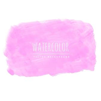 Roze aquarel textuur vector achtergrond